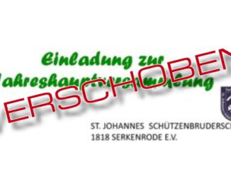 JHV Schürzenbrüder verschoben
